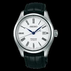 Reloj Seiko Presage SPB047J1EST Hombre Blanco Piel Automático