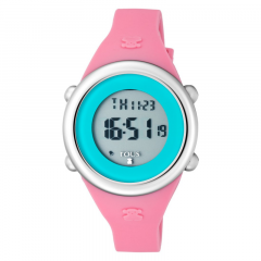 Reloj Soft Digital TOUS 800350615 niña silicona y acero