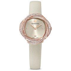Reloj Swarovski Crystal Flower 5552424 gris PVD tono oro rosa