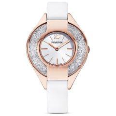 Reloj Swarovski Crystalline Sporty 5547635 blanco PVD tono oro rosa