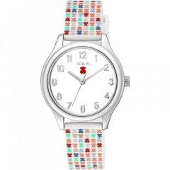 Reloj Tartan Kids TOUS 900350245 niña caucho y acero