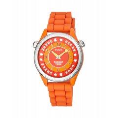 Reloj Tender time Tous 100350585 acero y silicona
