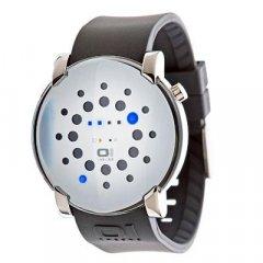 Reloj The One Gamma Ray GRR116B3 Hombre Blanco Caucho