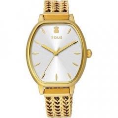 Reloj TOUS brazalete esterilla 100350410 dorado