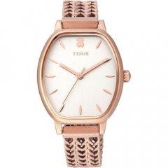 Reloj TOUS brazalete esterilla 100350415 oro rosa