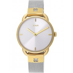 thumbnail Reloj TOUS brazalete esterilla 100350410 dorado