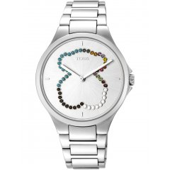 Reloj TOUS MOTION STRAIGHT SS 900350325 mujer oso cristales
