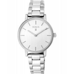 Reloj Tous Rond straight 100350465 mujer plateado