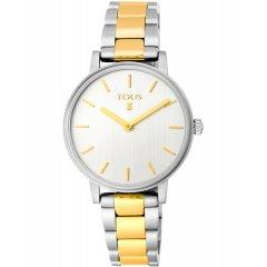 Reloj Tous Rond straight 100350475 mujer bicolor