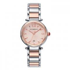 Reloj Viceroy  471054-95 Mujer Acero Acero Bicolor Calendario