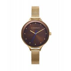 Reloj Viceroy Kiss 471294-47 mujer acero dorado