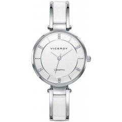 Reloj Viceroy Cerámica 471238-07 mujer acero circonitas