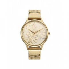 Reloj Viceroy Kiss 461120-97 mujer acero IP dorado