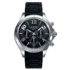 Reloj  Viceroy Penélope Cruz 47893-55 Hombre Negro Cronógrafo