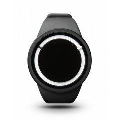Reloj Ziiiro Eclipse Z0010WBK Hombre Negro Silicona