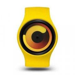 Reloj Ziiiro Gravity Z0001WY Unisex Amarillo Silicona