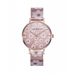 Reloj Viceroy Kiss 401140-77 acero mujer flores