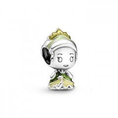 Charm Pandora 799510C01 Princesa Tiana y el Sapo