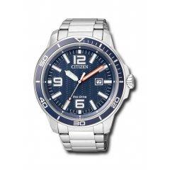Reloj Citizen Caballero 3 agujas AW1520-51L acero