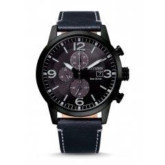 Reloj Citizen Cronógrafo CA0745-29E acero y piel