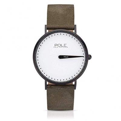 principal Reloj Pole B-1002NE-BL05 Acero Hombre