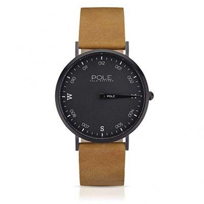 principal Reloj Pole B-1002PL-NE02 Acero Hombre