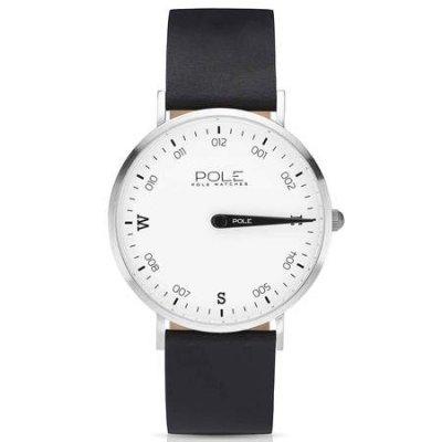 principal Reloj Pole B-1001BL-NE07 Acero Hombre