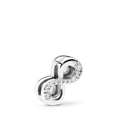 principal Charm Pandora 797580CZ Plata Mujer Circonitas Infinito
