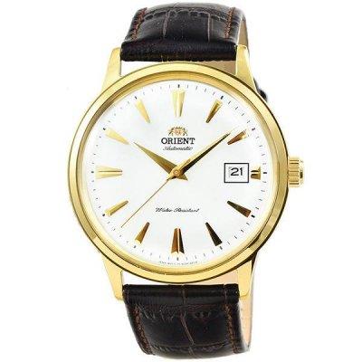 principal Reloj orient FAC00003W0 Hombre Acero Dorado Automático