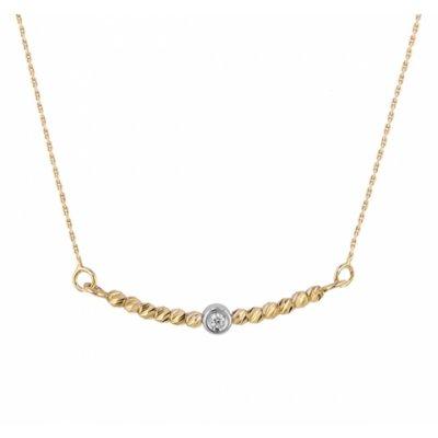 principal Colgante oro y diamante 03-153417A Mujer
