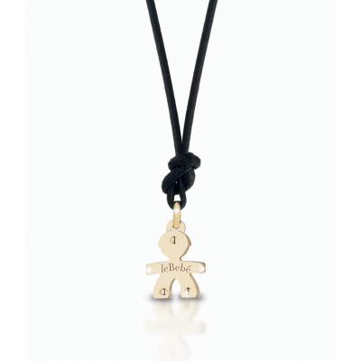 principal Colgante leBebé gioielli LBB046 Niño Oro Rosa Mini