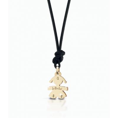 principal Colgante leBebé gioielli LBB047 Niña Oro Amarillo Mini