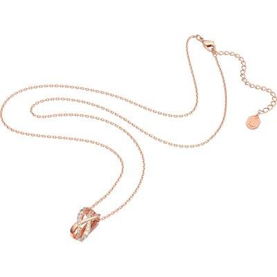 principal Collar Twist Swarovski 5620549 chapado rosa