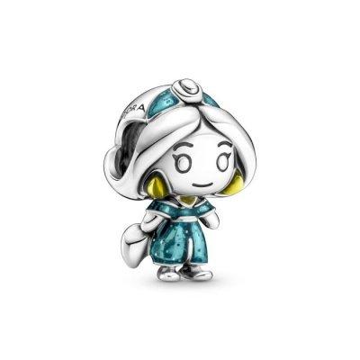 principal Charm Pandora 799507C01 Jasmine de Aladdin Disney
