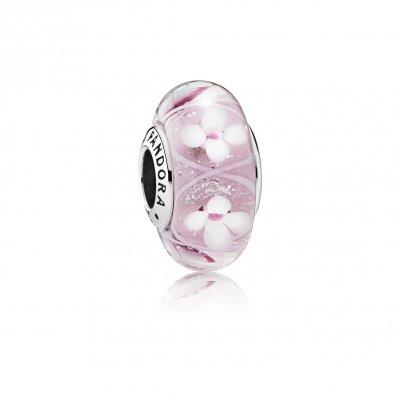 pandora abalorio rosa
