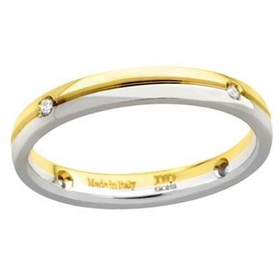 principal Alianza de Boda Davite & Delucchi AA2020D Albraccio Oro Diamantes