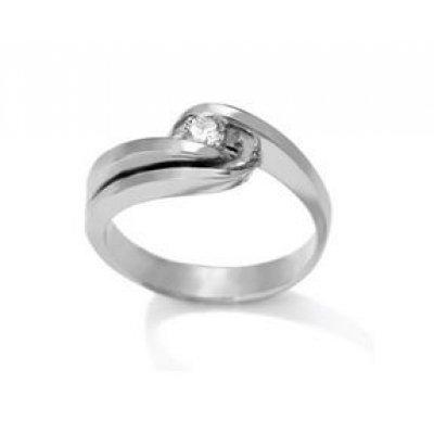 principal Anillo Antonelli 342069 Mujer Oro Blanco Diamantes