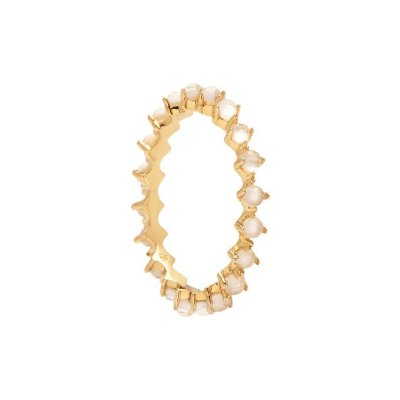 principal Anillo P DE PAOLA AN01-135-12 Mujer Plata Cristales Blancos