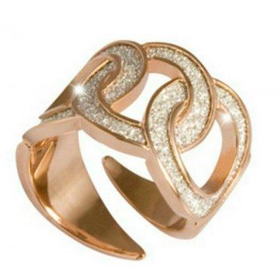 principal Anillo Rebecca BDIAOB02 mujer bronce diamantado