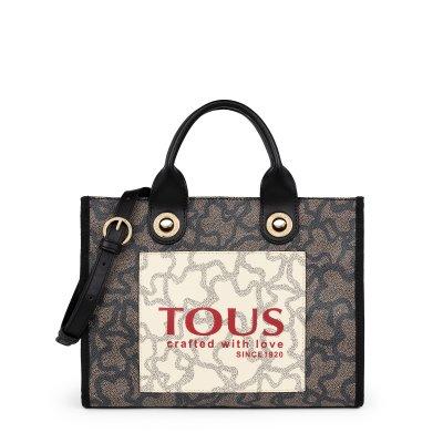 principal Bolso shopping mediano Amaya Kaos Tous 095900641 negro