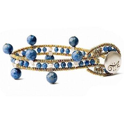 principal Brazalete Ziio jewelry BR CROWN LAPIS Mujer Plata Azul Lapislázuli