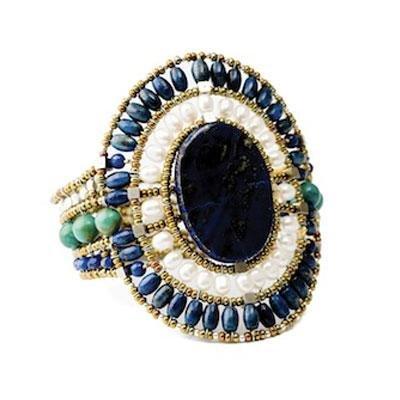 principal Brazalete Ziio jewelry BR SUN LG LAPIS Mujer Plata Dorado Lapislázuli