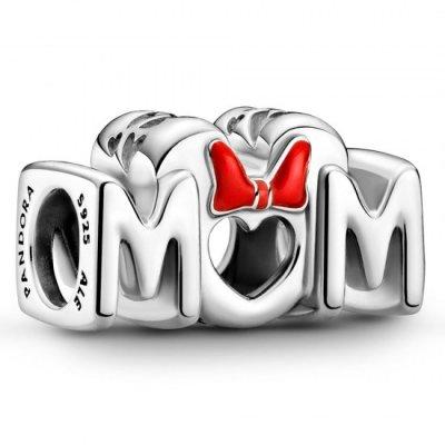 principal Charm Pandora 799363C01 Lazo de Minnie & Madre