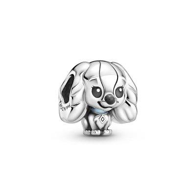 principal Charm Pandora 799386C01 dama de Disney plata