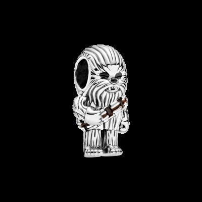 principal Charm Pandora Chewbacca de Star Wars 799250C01 unisex plata