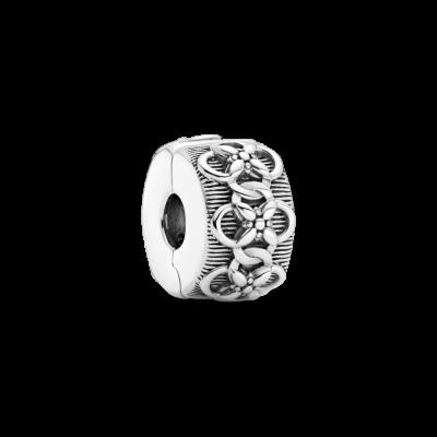 principal Clip Pandora estampado de flores 799316C00 mujer