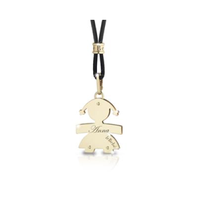 principal Colgante leBebé gioielli LBB003 Niña Oro Amarillo Classici