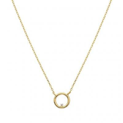 principal Collar aro ITEMPORALITY SNL-201-016-UU baño oro
