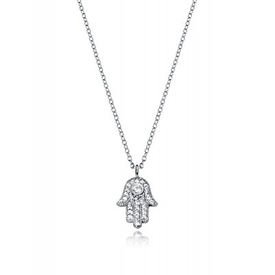 principal Collar Bijoux Viceroy 5070C000-38 Mujer Plata