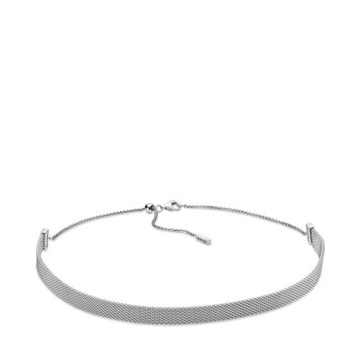 principal Collar Choker Pandora Reflexions 398252 mujer plata